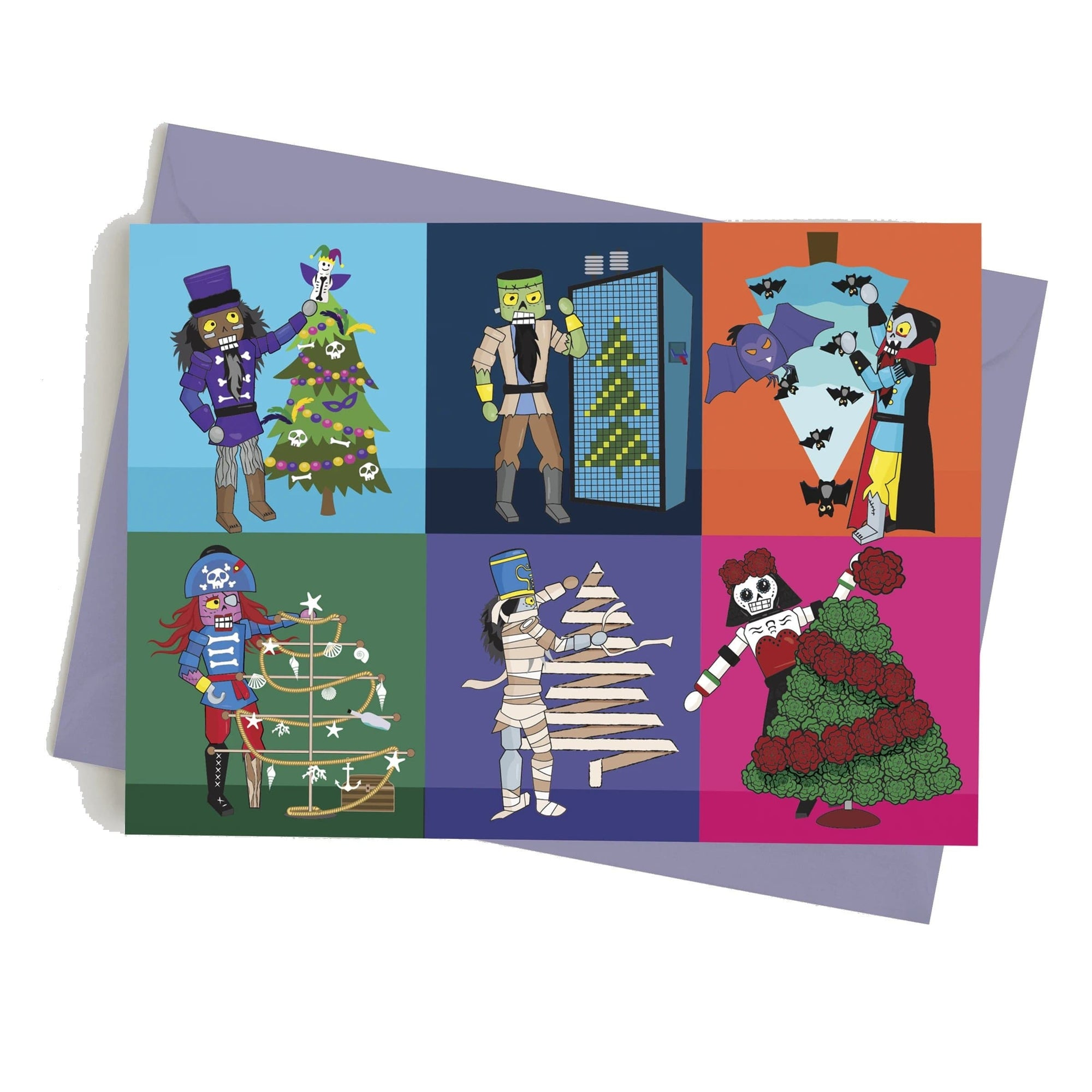 Monster Crackers Card - However You Celebrate Monster Crackers Paper Products