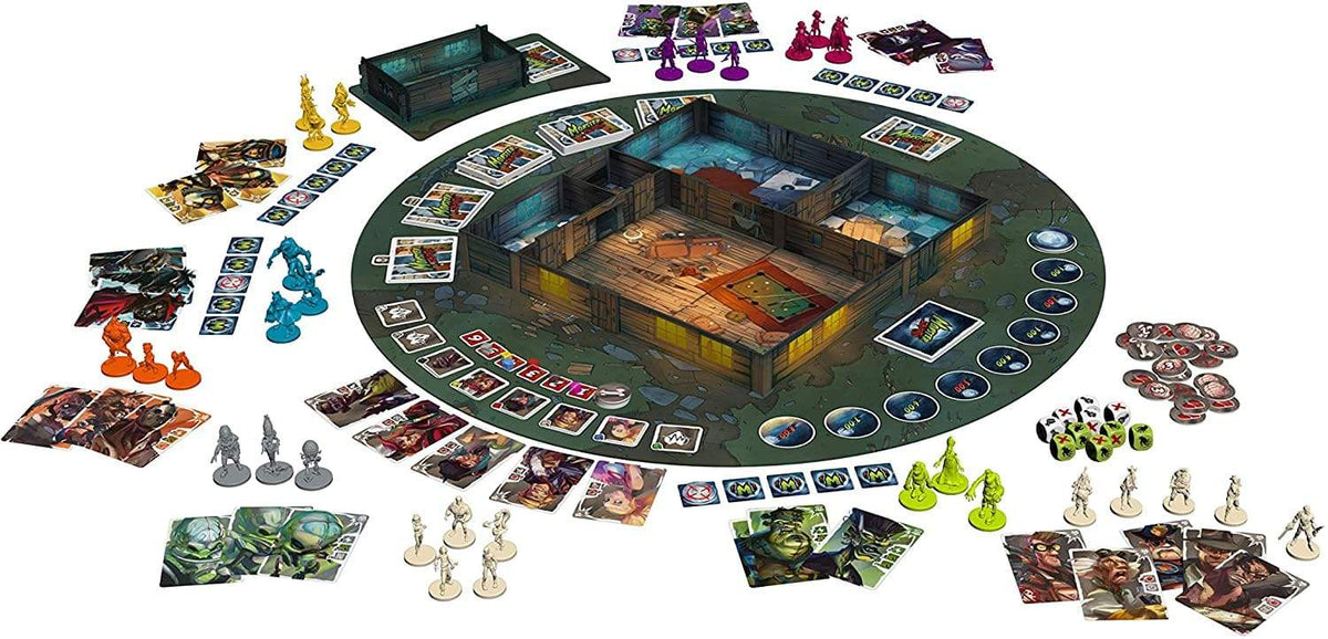 Monster Slaughter Alliance Games Board Games