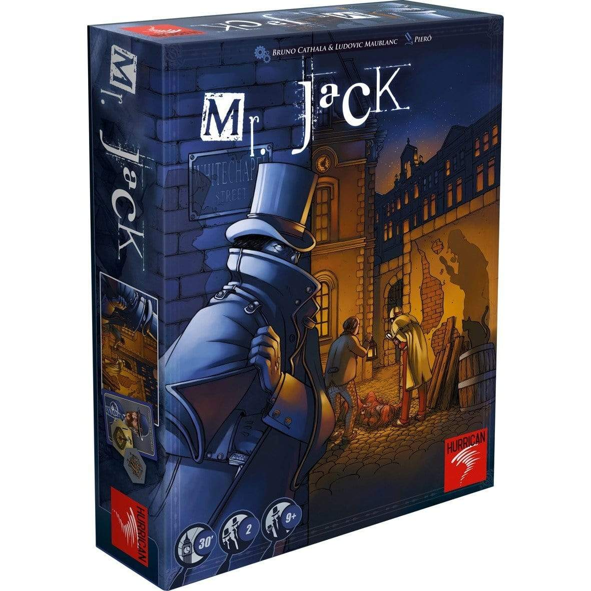 Mr. Jack: Revised Edition Asmodee Board Games