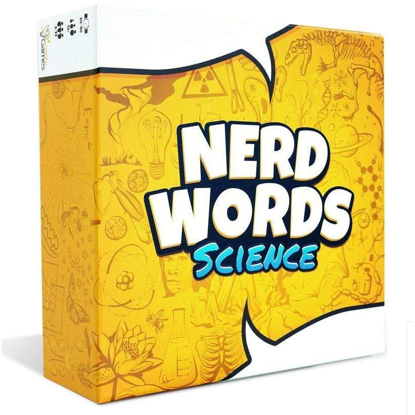 Nerd Words Science Genius Games Board Games