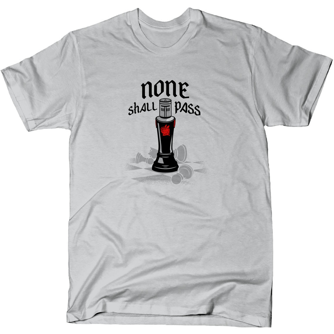 None Shall Pass Black Knight shirt Snorgtees Clothing/Accessories