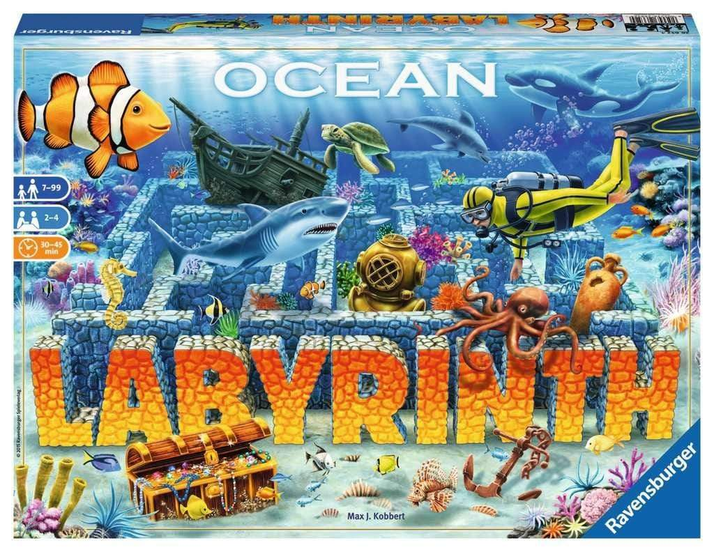Ocean Labyrinth Ravensburger Board Games