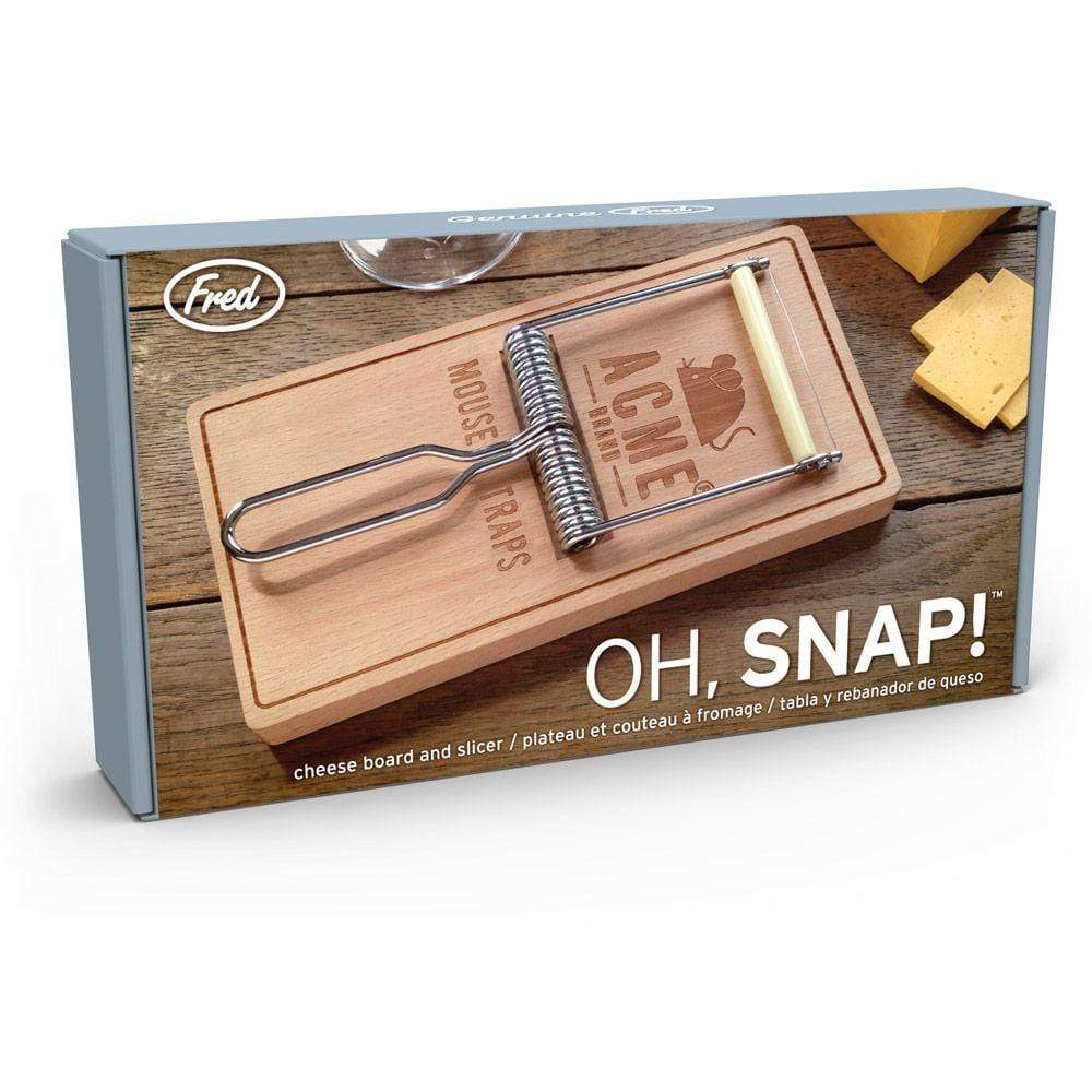 Oh Snap! - mousetrap cheese set Fred & Friends Home Decor/Kitchenware