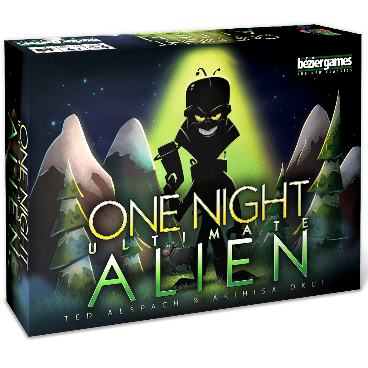 One Night Ultimate Alien Bezier Games Board Games