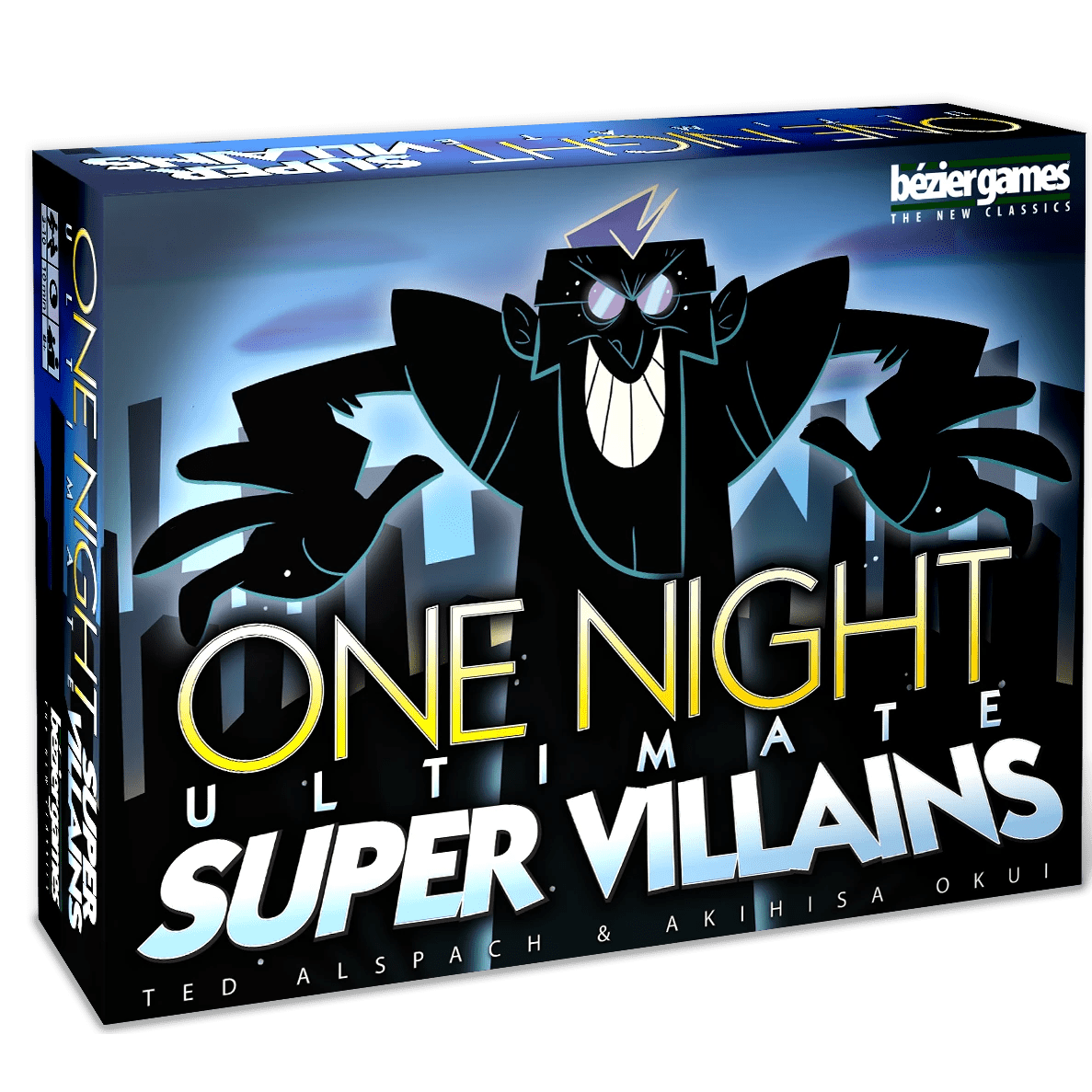 One Night Ultimate Super Villians Bezier Games Board Games