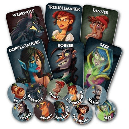 One Night Ultimate Werewolf Bezier Games Board Games