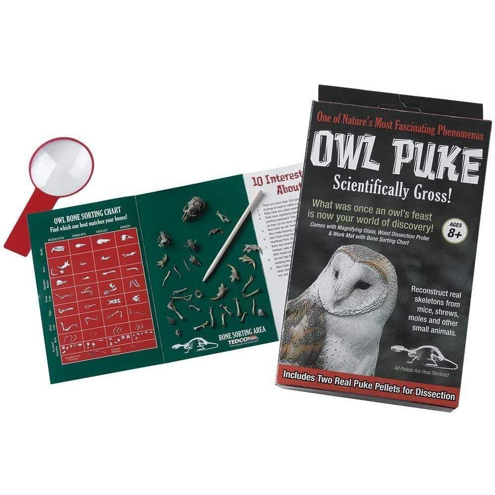 Owl Puke Tedco Projects/Kits