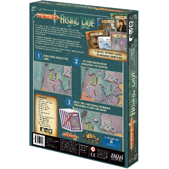Pandemic: Rising Tide Alliance Games Board Games