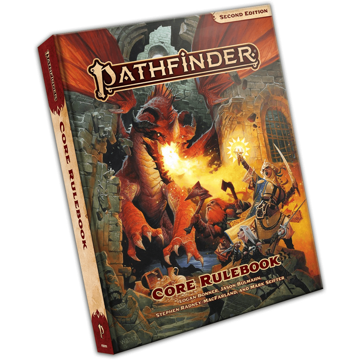 Pathfinder Core Rulebook (Hardcover) Paizo Publishing Board Games