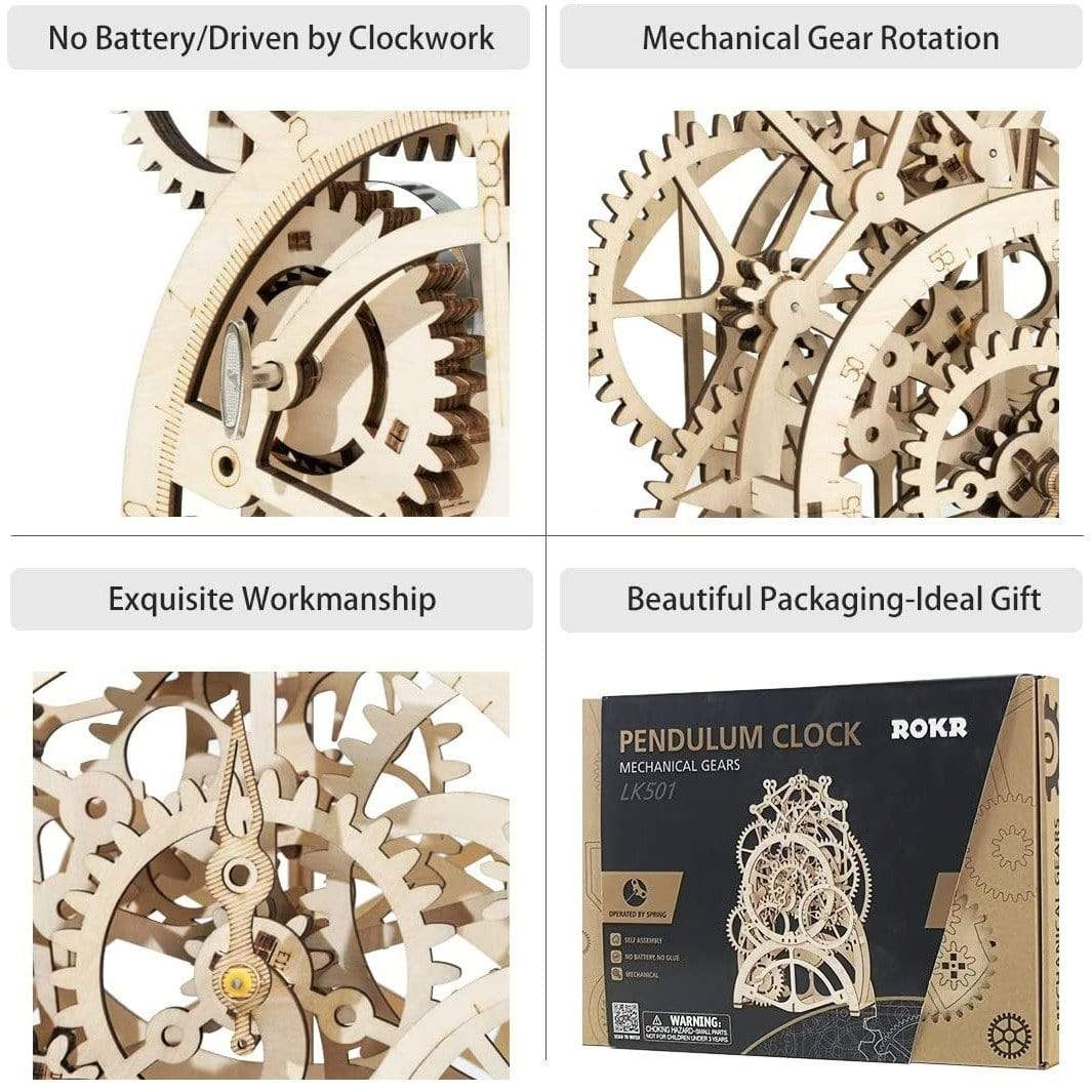 Pendulum Clock Kit Hands Craft Projects/Kits