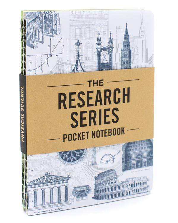 Physical Science Pocket Notebooks 4-Pack Cognitive Surplus Paper Products