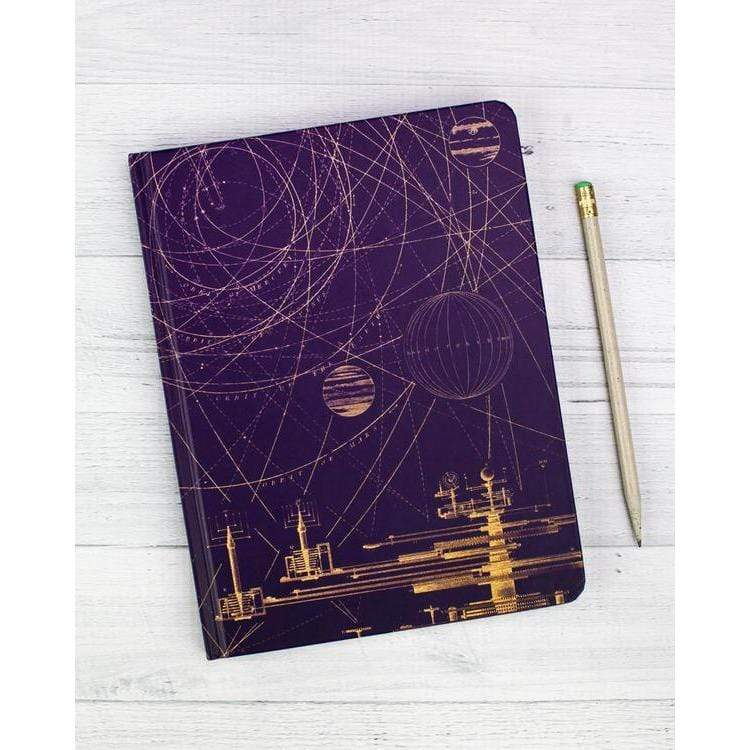 Planetary Motion Notebook hardcover Cognitive Surplus Paper Products