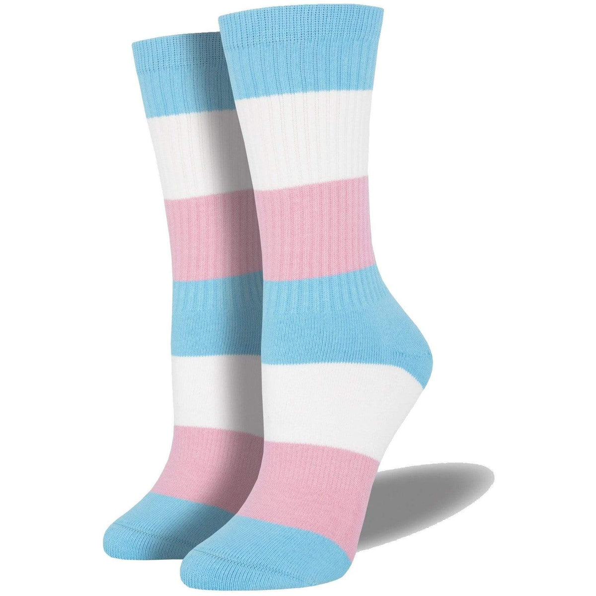 Pride socks - Trans - L/XL Sock Smith Clothing/Accessories