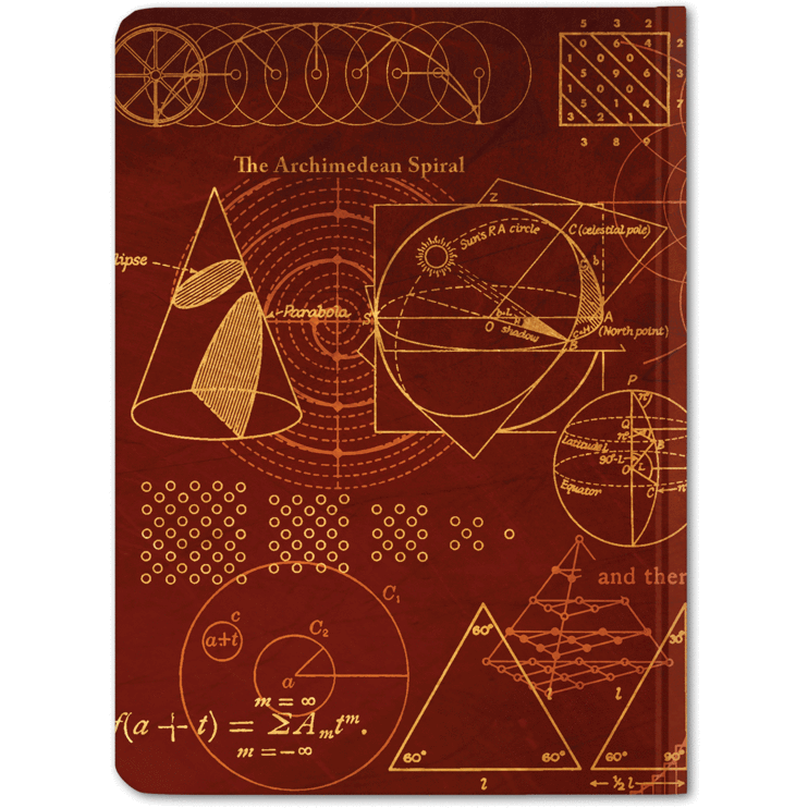 Pythagoras Notebook hardcover Cognitive Surplus Paper Products