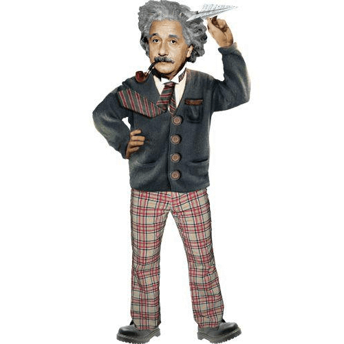 Quotable Notable: Albert Einstein card Unemployed Philosophers Guild Paper Products