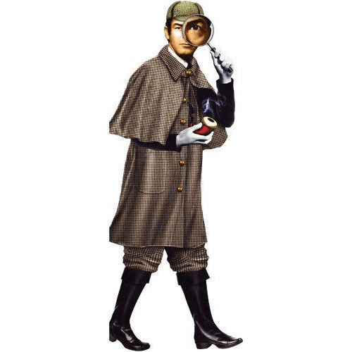 Quotable Notable: Sherlock Holmes card Unemployed Philosophers Guild Paper Products