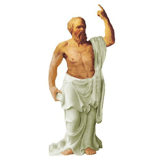 Quotable Notable: Socrates card Unemployed Philosophers Guild Paper Products