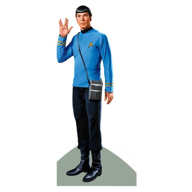 Quotable Notable: Spock card Unemployed Philosophers Guild Paper Products