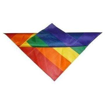 Rainbow Wide Stripes Bandana Rainbow Depot Clothing/Accessories
