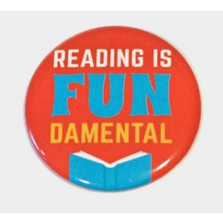 Reading Is Fundamental magnet Badge Bomb Home Decor/Kitchenware
