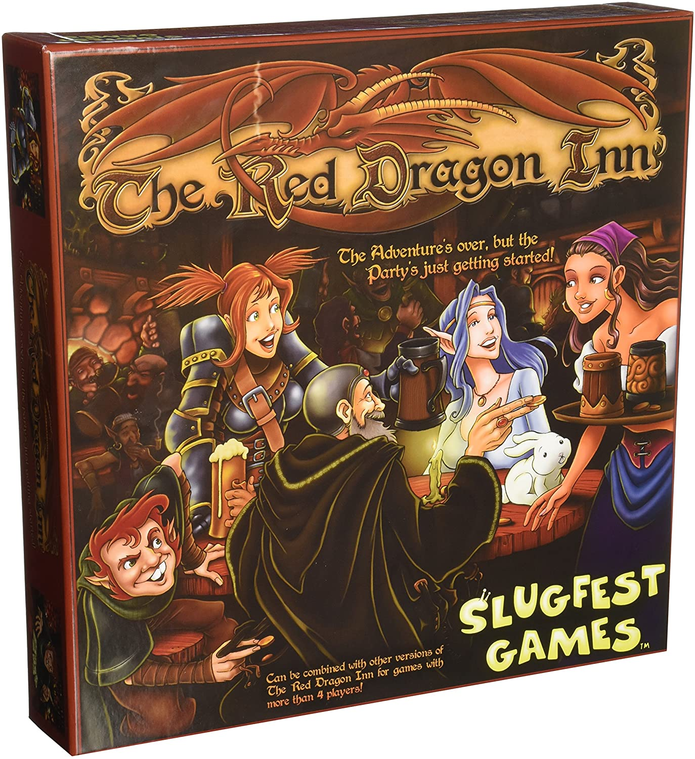 Red Dragon Inn Game Alliance Games Board Games