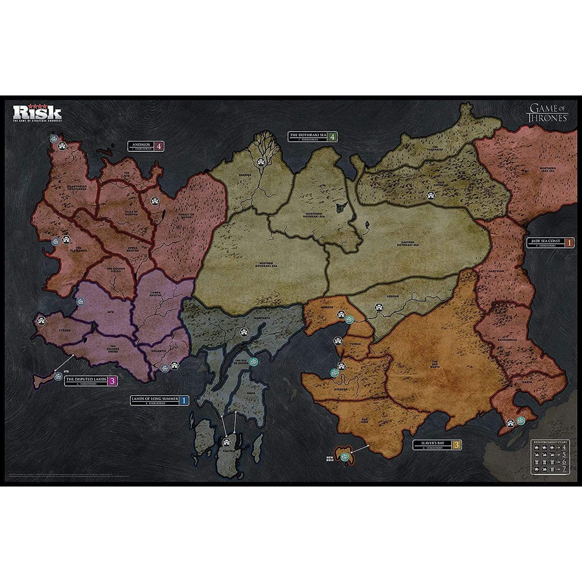Risk: Game Of Thrones Alliance Games Board Games