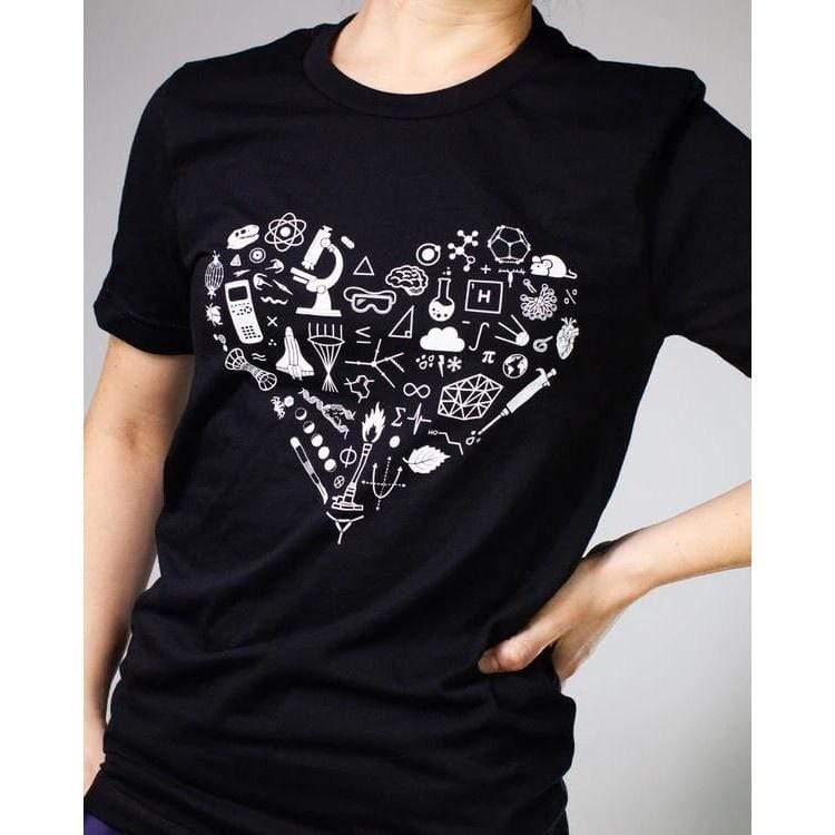 Science is Love Shirt Cognitive Surplus Clothing/Accessories