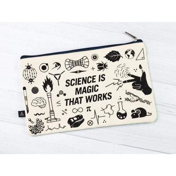 Science Is Magic Zipper Case Cognitive Surplus Clothing/Accessories