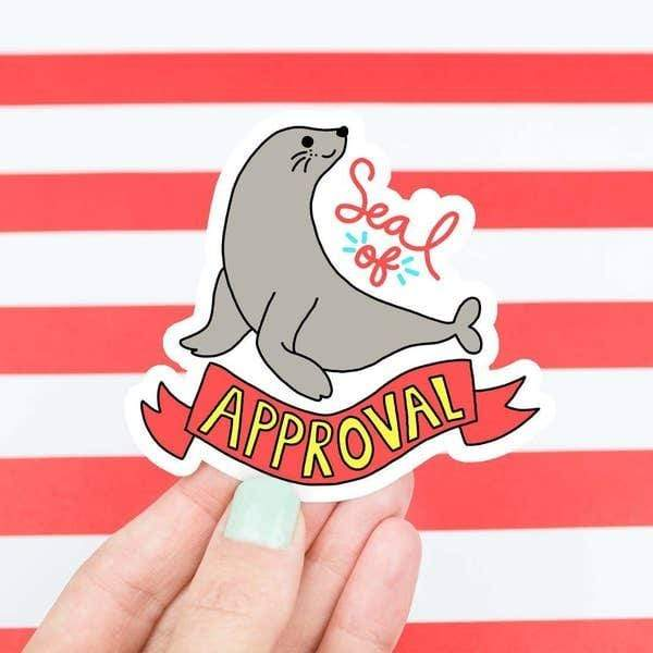 Seal Of Approval vinyl sticker Turtle's Soup Paper Products