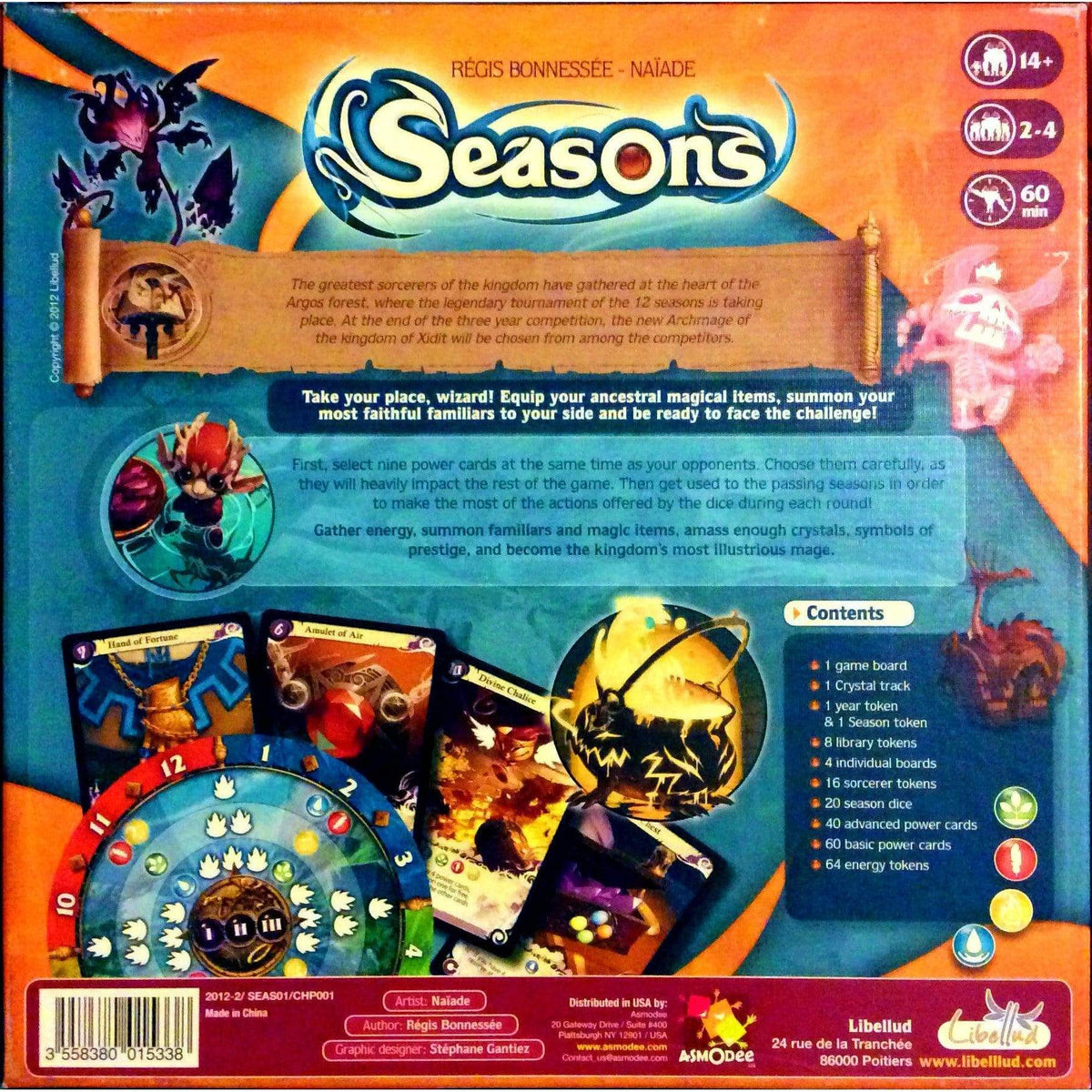 Seasons ACD Distribution Board Games