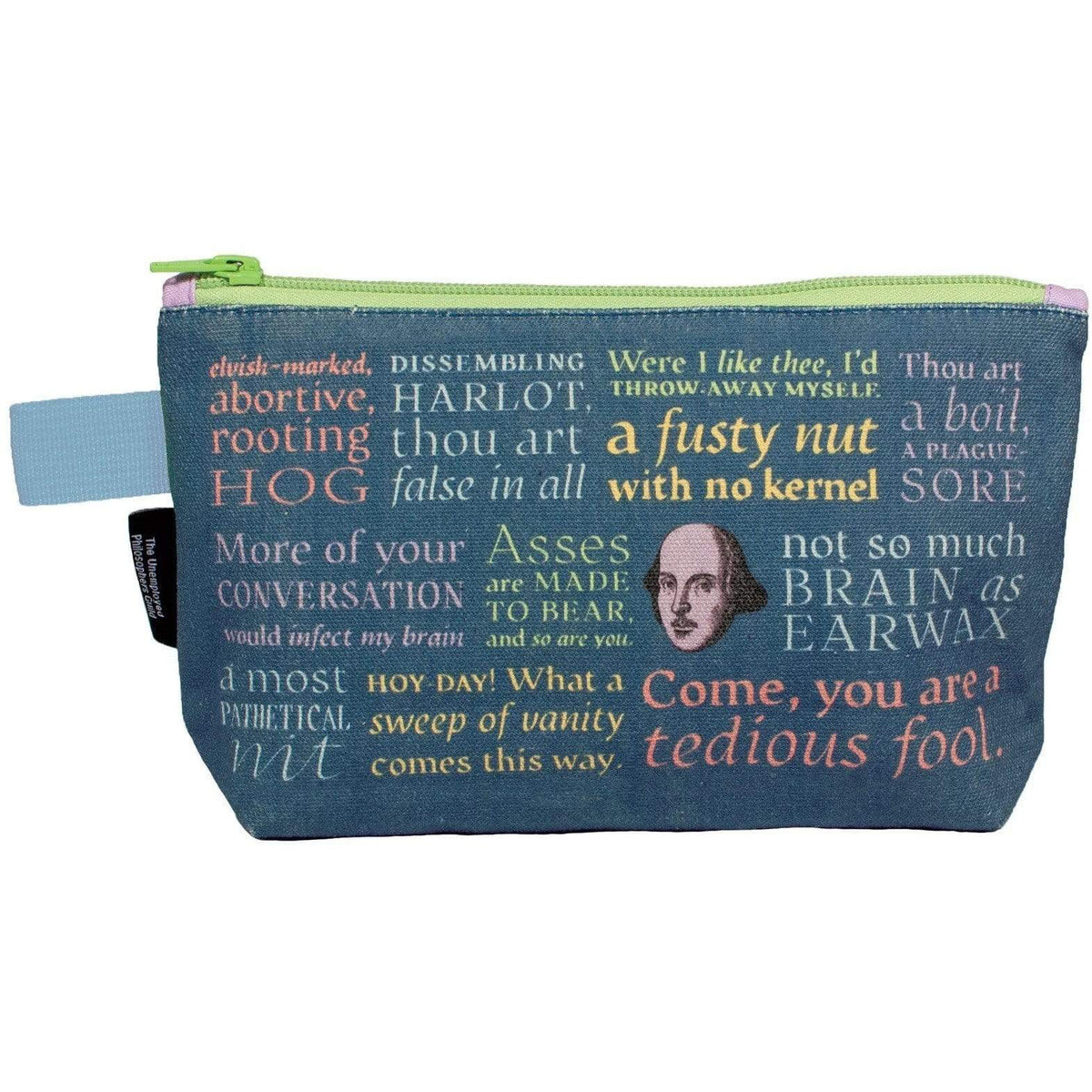 Shakespearean Insults Bag Unemployed Philosophers Guild Clothing/Accessories