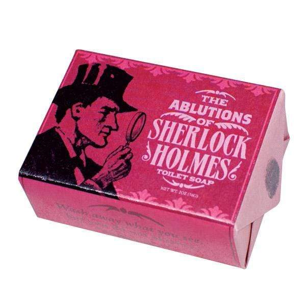 Sherlock Holmes Soap Unemployed Philosophers Guild Home Decor/Kitchenware