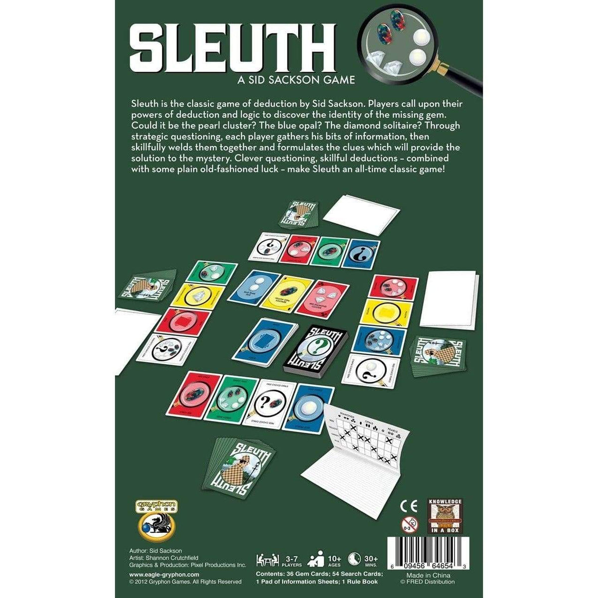Sleuth Alliance Games Board Games