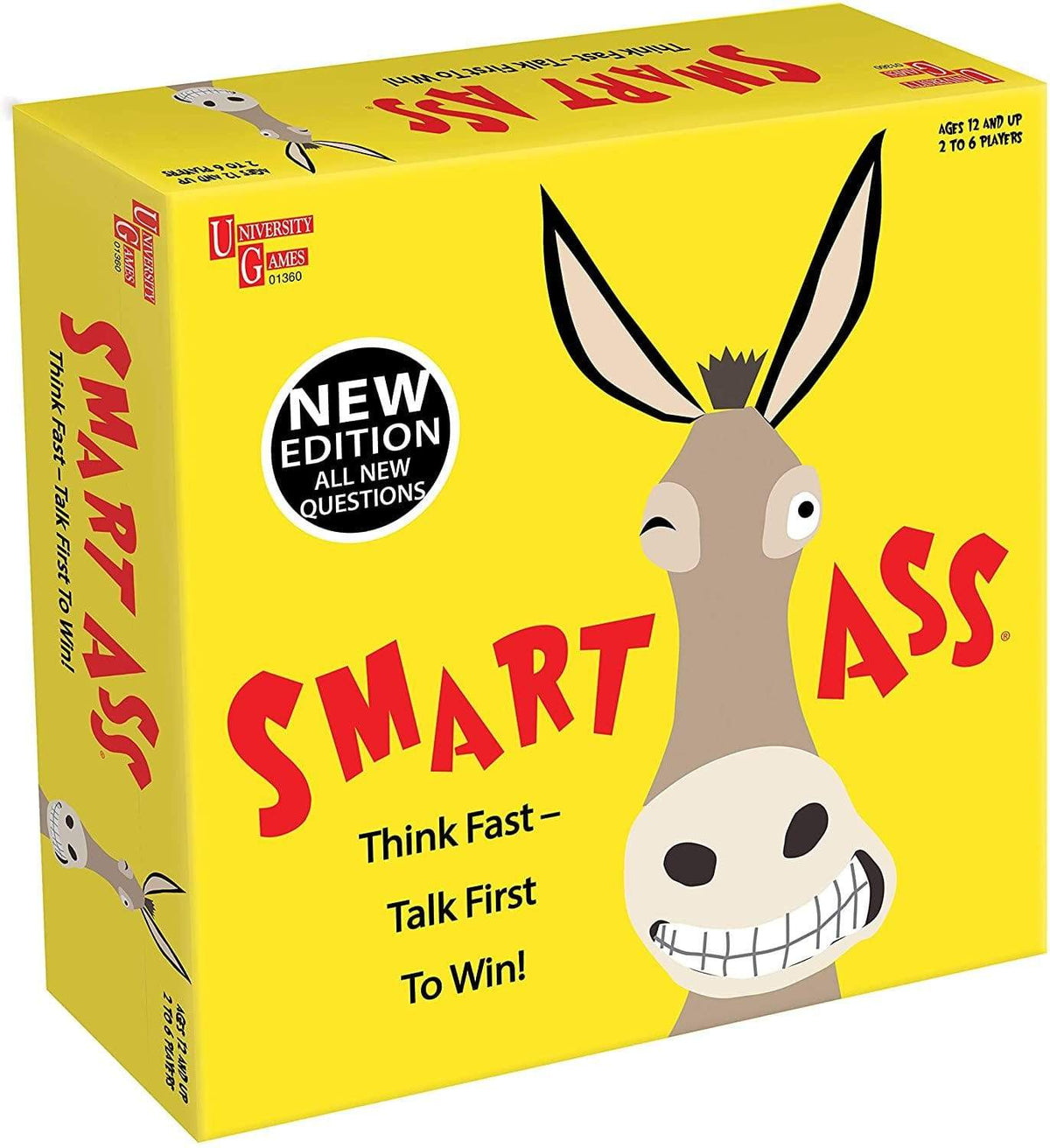 Smart Ass Board Game ACD Distribution Board Games