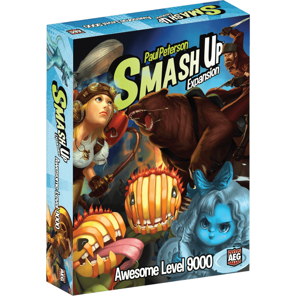 Smash Up: Awesome Level 9000 Expansion Alderac Entertainment Group Board Games