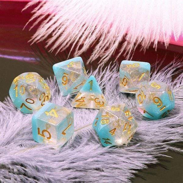 Snowflake dice set HD Dice / Hengda Mfg. Puzzles/Playthings