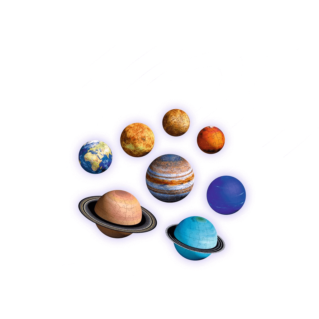 Solar System 3D Puzzles set Ravensburger Puzzles/Playthings