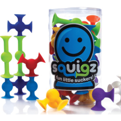 Squigz Starter Set Fat Brain Toys Co Puzzles/Playthings