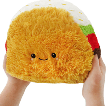 Squishable: Mini Taco Squishable Plush