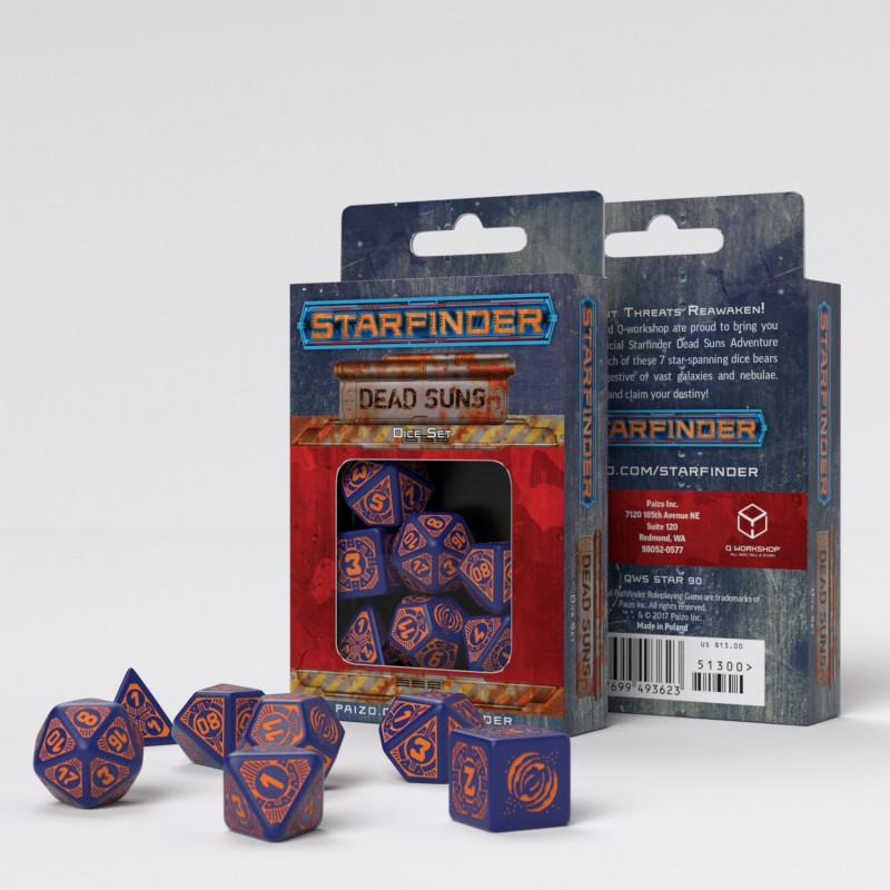 Starfinder-Dead Suns dice set Q-Workshop Puzzles/Playthings