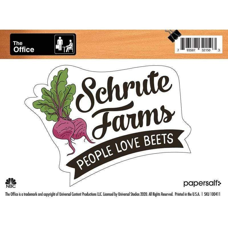 The Office: Schrute Farms Sticker Papersalt Paper Products