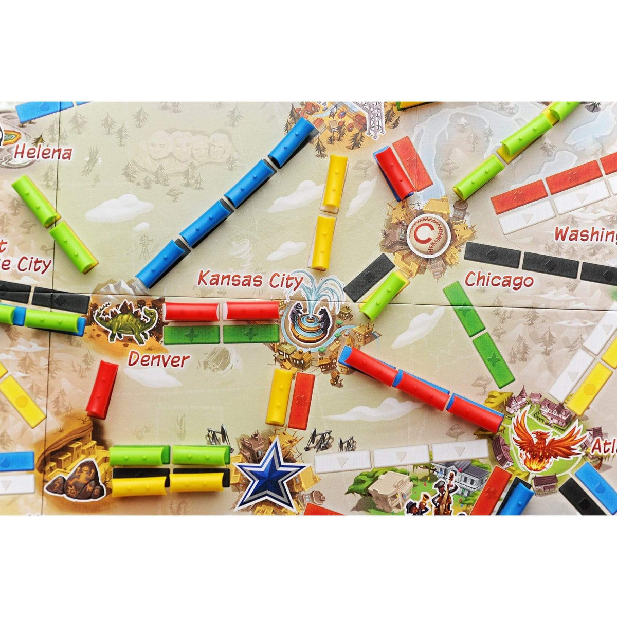 Ticket to Ride: First Journey Alliance Games Board Games