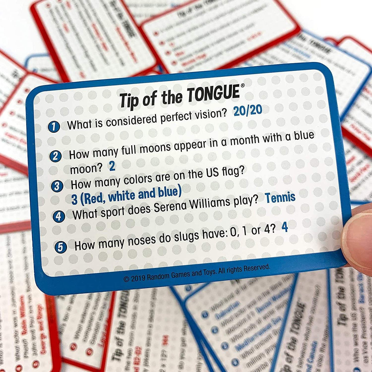 Tip of the Tongue University Games Board Games