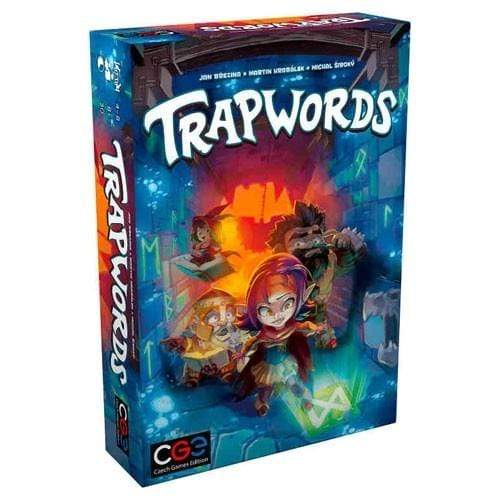 Trapwords Alliance Games Board Games