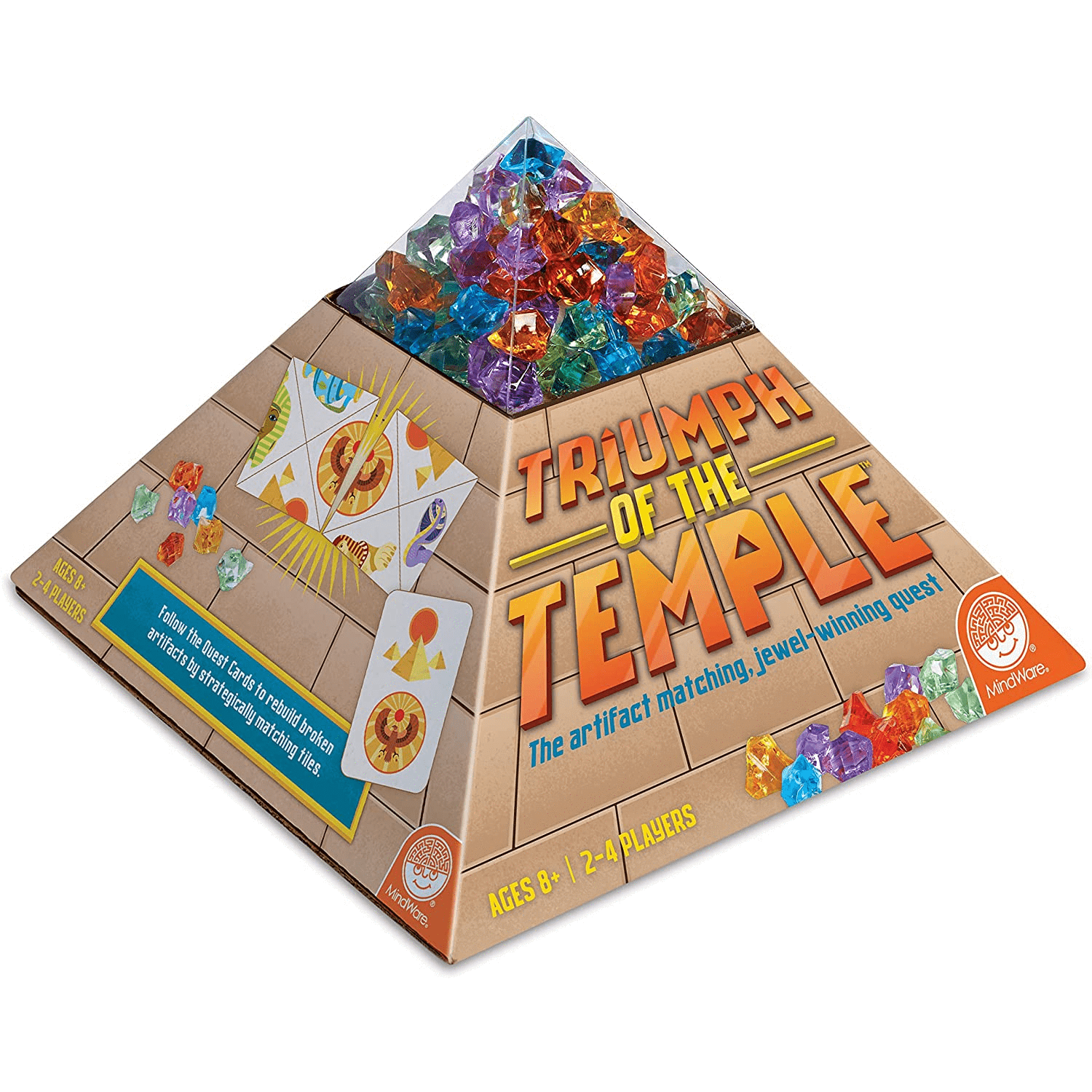 Triumph of the Temple Mindware Board Games