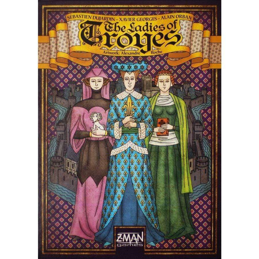 Troyes: The Ladies Of Troyes Expansion Alliance Games Board Games