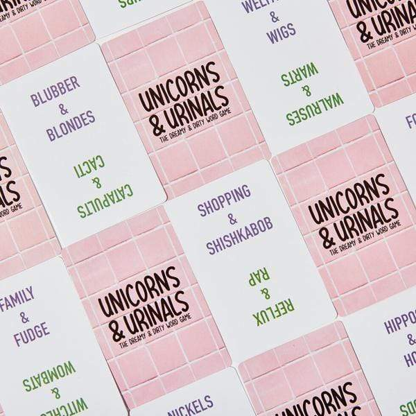 Unicorns & Urinals Shenanigames Board Games