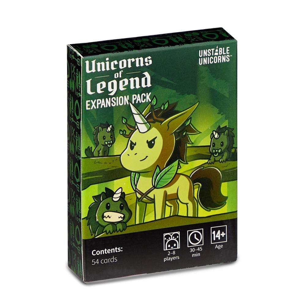 Unstable Unicorns: Unicorns of Legend Expansion Pack TeeTurtle Board Games
