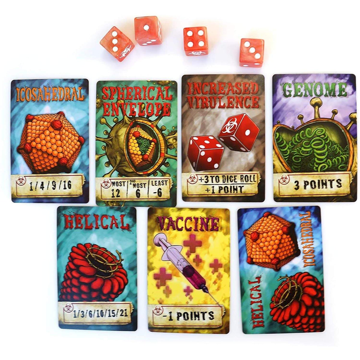 Virulence: An Infectious Card Game Genius Games Board Games