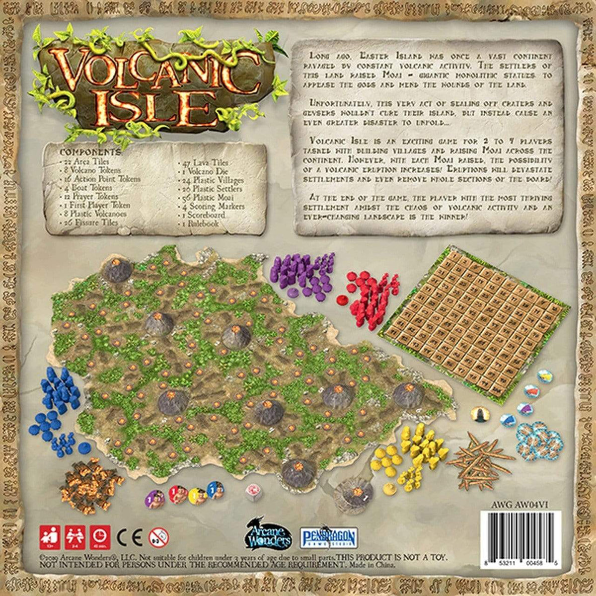 Volcanic Isle Alliance Games Board Games